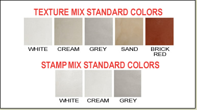 Stamp Mix / Texture Mix Standard Colors